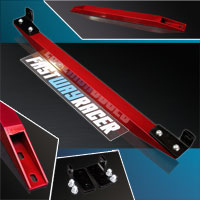 96-00 Honda Civic Candy Red Aluminum Rear Subframe Lower Tie Bar