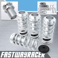 88-00 Honda Civic Silver Lowering Spring Coilover Sleeve