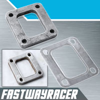 T3/T4 T04E T4 Turbo Turbine Inlet Flange with Gasket