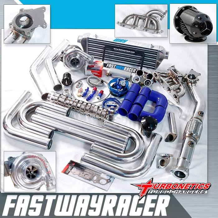 0306 Toyota Matrix XRS 2ZZGE T3T4 Turbo Kit with Turbonetics