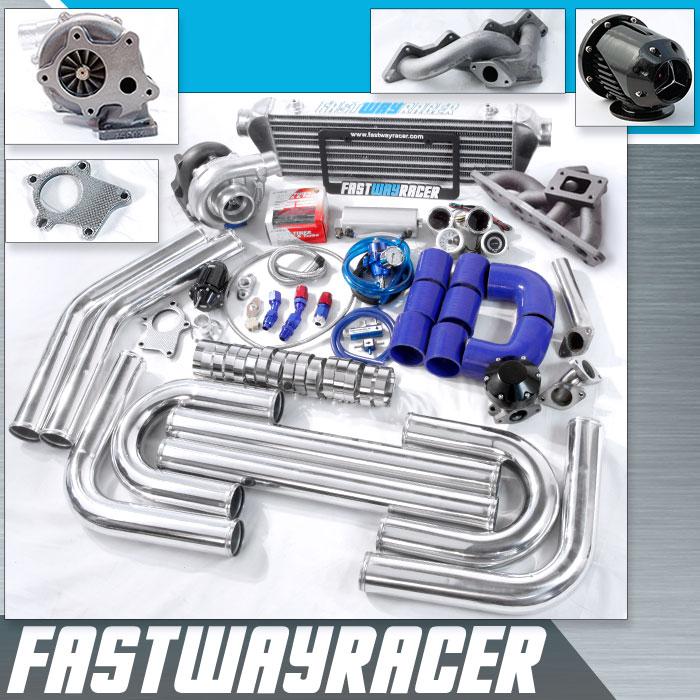 0105 Dodge Stratus 4G64 24L SOHC T3T4 Turbo Kit  FastWayRacerCom