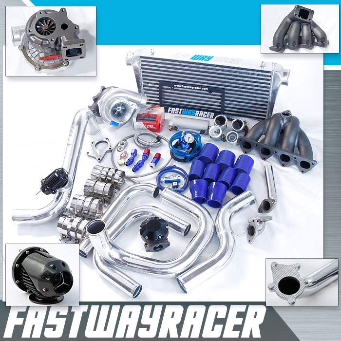 88-91 Honda CRX D15/D16 Top Mount T3/60-1 Turbo Kit