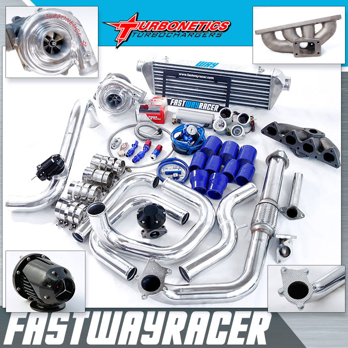 88-91 Honda CRX B16/B18 T3/T4 Turbo Kit with Turbonetics