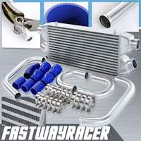 90-96 Nissan 300ZX VG30DETT Bolt On Front Mount Intercooler Kit