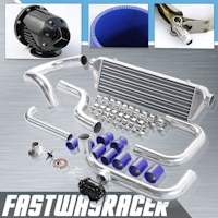 94-01 Acura Integra B-Series Bolt On Intercooler Kit & SSQV Turbo Blow Off Valve Bov