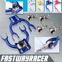 92-95 Honda Civic Blue Adjustable Front Upper Control Camber Arm Kit & Bushing Kit