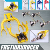 94-01 Acura Integra Yellow Adjustable Front Upper Control Camber Arm Kit & Bushing Kit