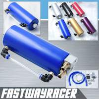 Universal Blue 750ML Aluminum Oil Catch Tank