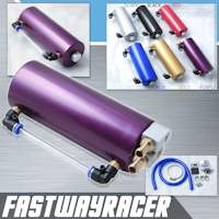 Universal Purple 750ML Aluminum Oil Catch Tank