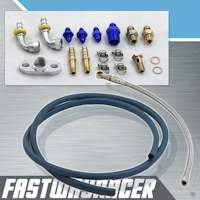T25/T28 Complete Bolt On Water and Oil Line Kit