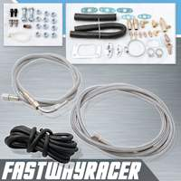 Universal T3/T4 Turbo Complete Oil Line Kit