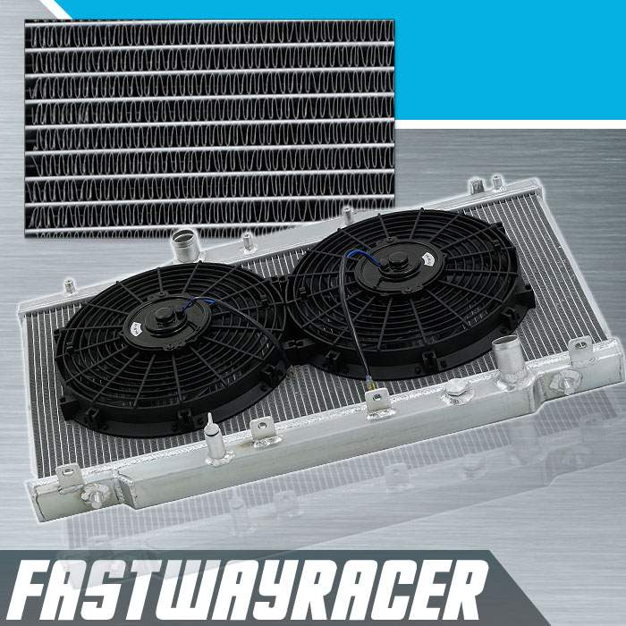 Acura RSX Manual Rows Aluminum Radiator X Cooling - Acura rsx radiator