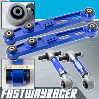 88-95 Honda Civic EF/EG Blue Rear Lower Control Arm & Rear Camber Kit