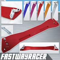 92-95 Honda Civic EG Red Aluminum Rear Subframe Brace