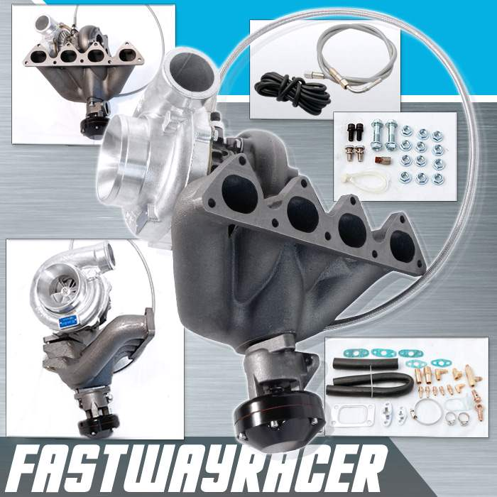 Acura Integra BB Top Mount T Turbo Charger Kit - Acura integra turbo kit