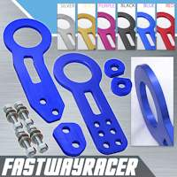 Universal Front and Rear Blue Tow Hook