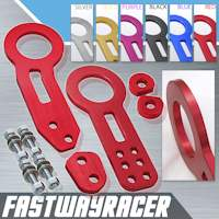Universal Front and Rear Red Tow Hook