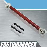 89-98 Nissan 240SX S13/S14 Red Rear Lower Tie Bar