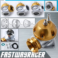 Universal Adjustable Gold RS-S Version 2 Turbo Blow Off Valve Bov