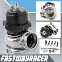 Universal Black 50MM V-band Adjustable Turbo External Wastegate